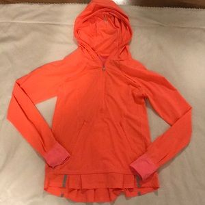 Lululemon pullover half zip jacket